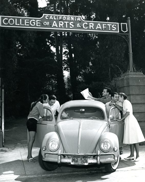 Broadway entrance gate, 1959