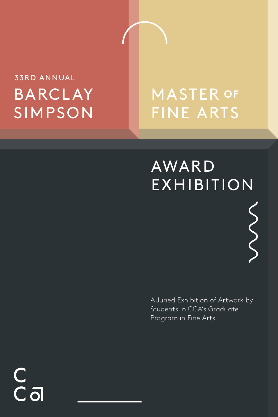 Barclay Simpson 33rd Annual Exhibition postcard front (no dates)