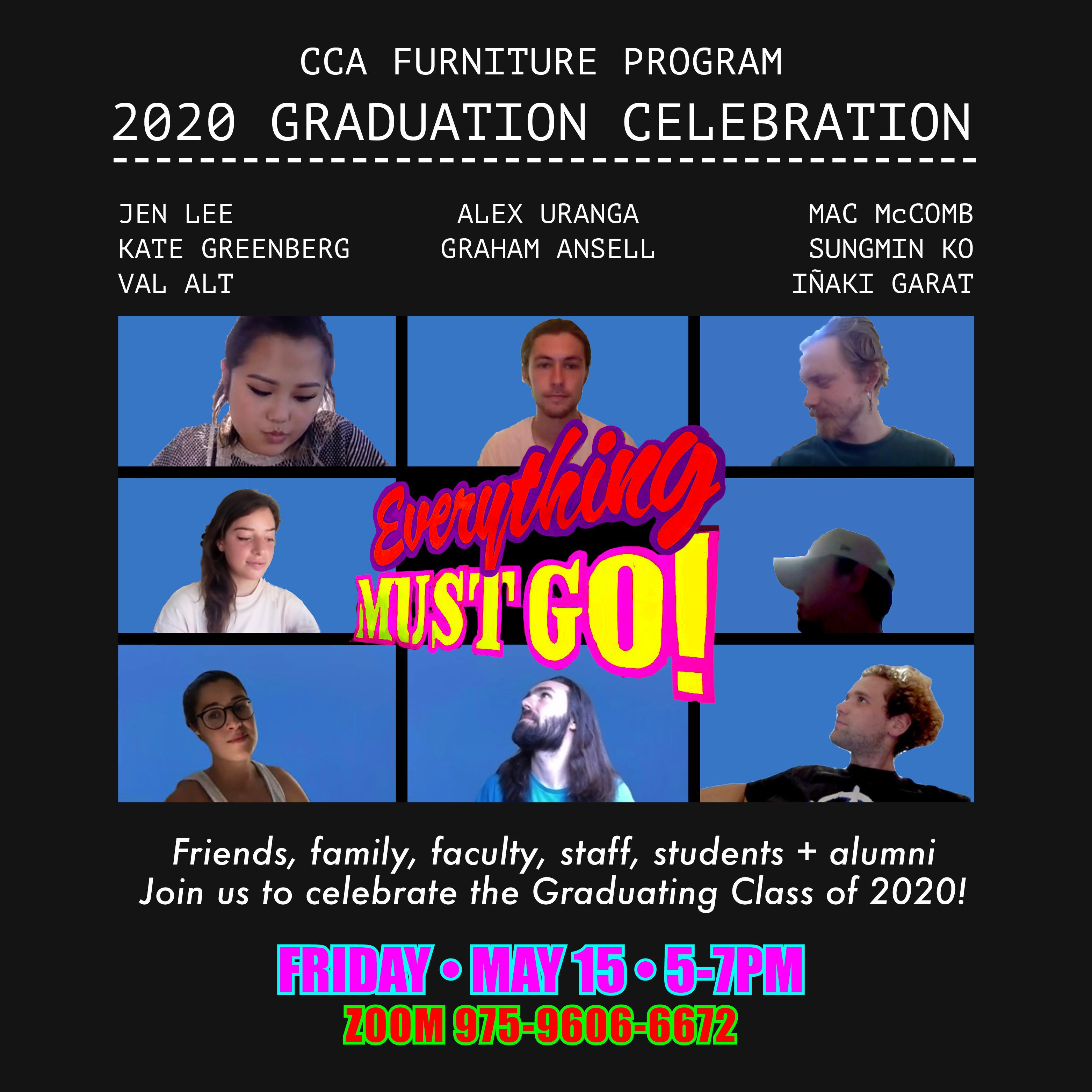 Spring 2020 Furniture BFA End of Year Show
