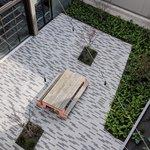 Blattner Courtyard Arial
