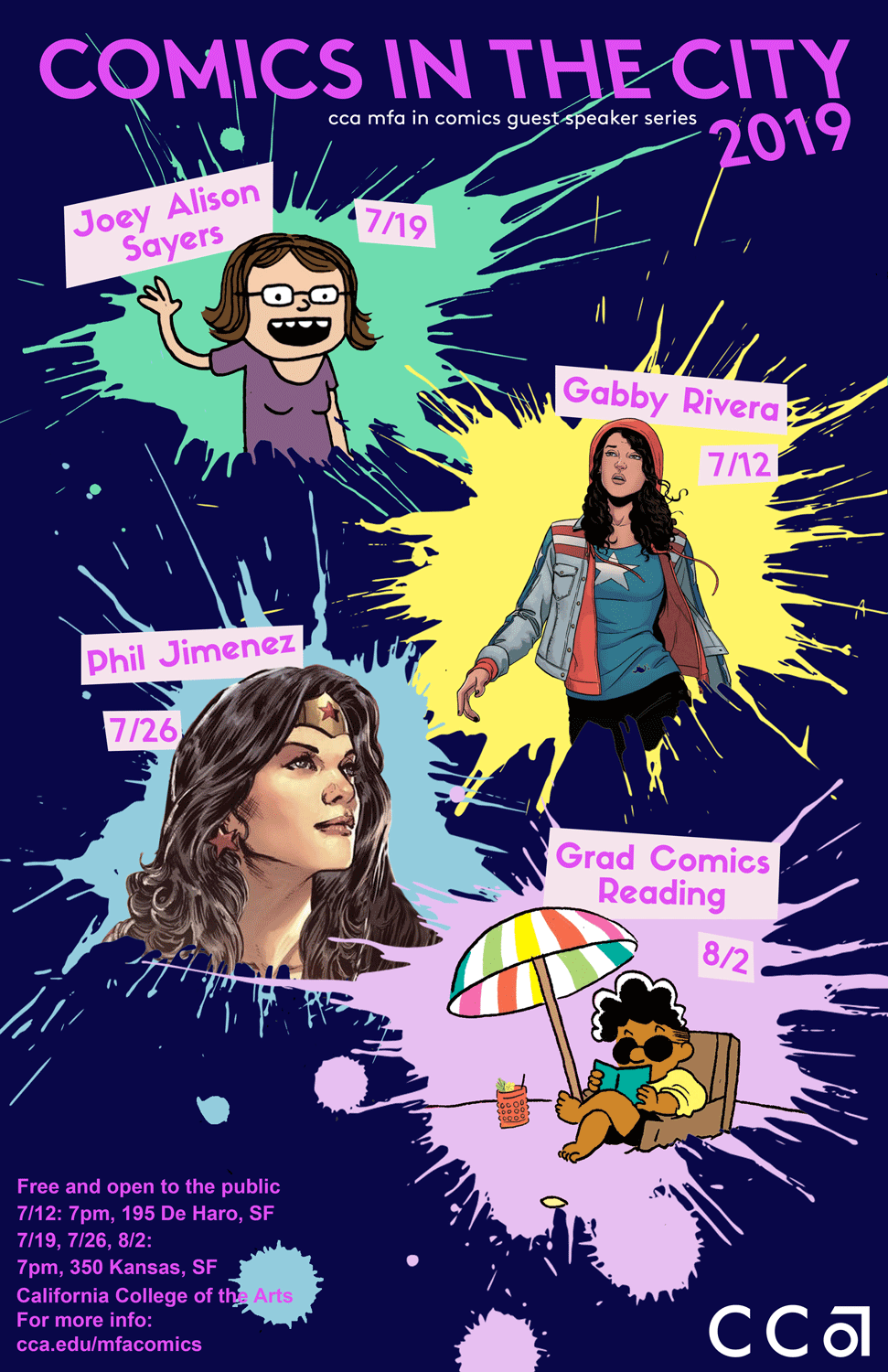 Comics in the City poster 2019_Events_NP