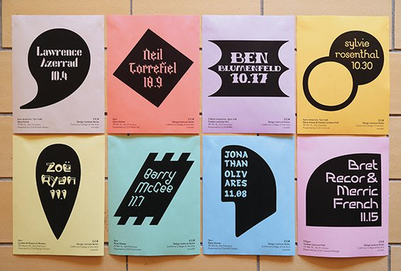 Fall 2018 Design Lecture Series Poster