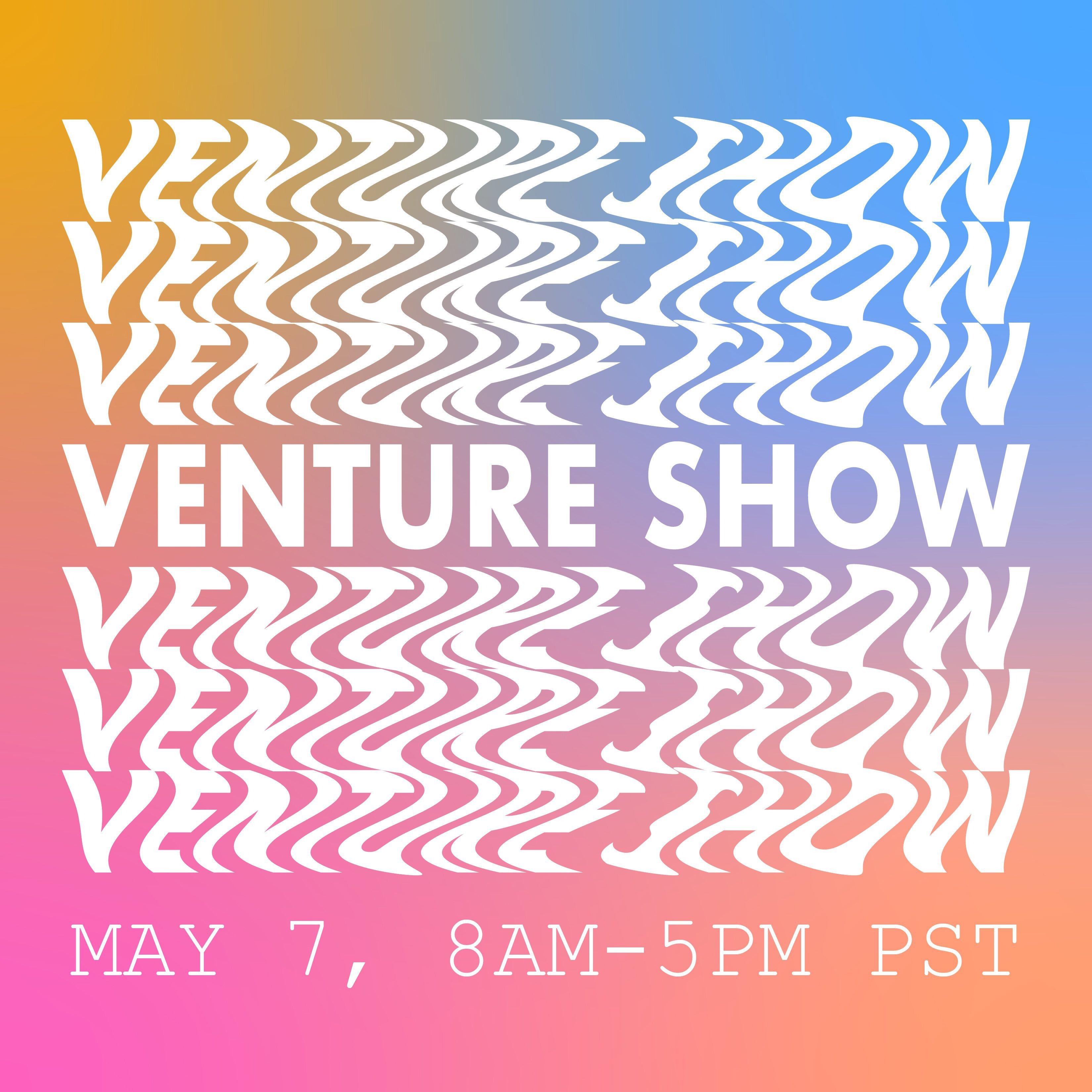 Venture Show 2021 Invitation graphic