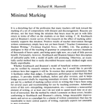 Image of Haswells Minimal Marking article.png
