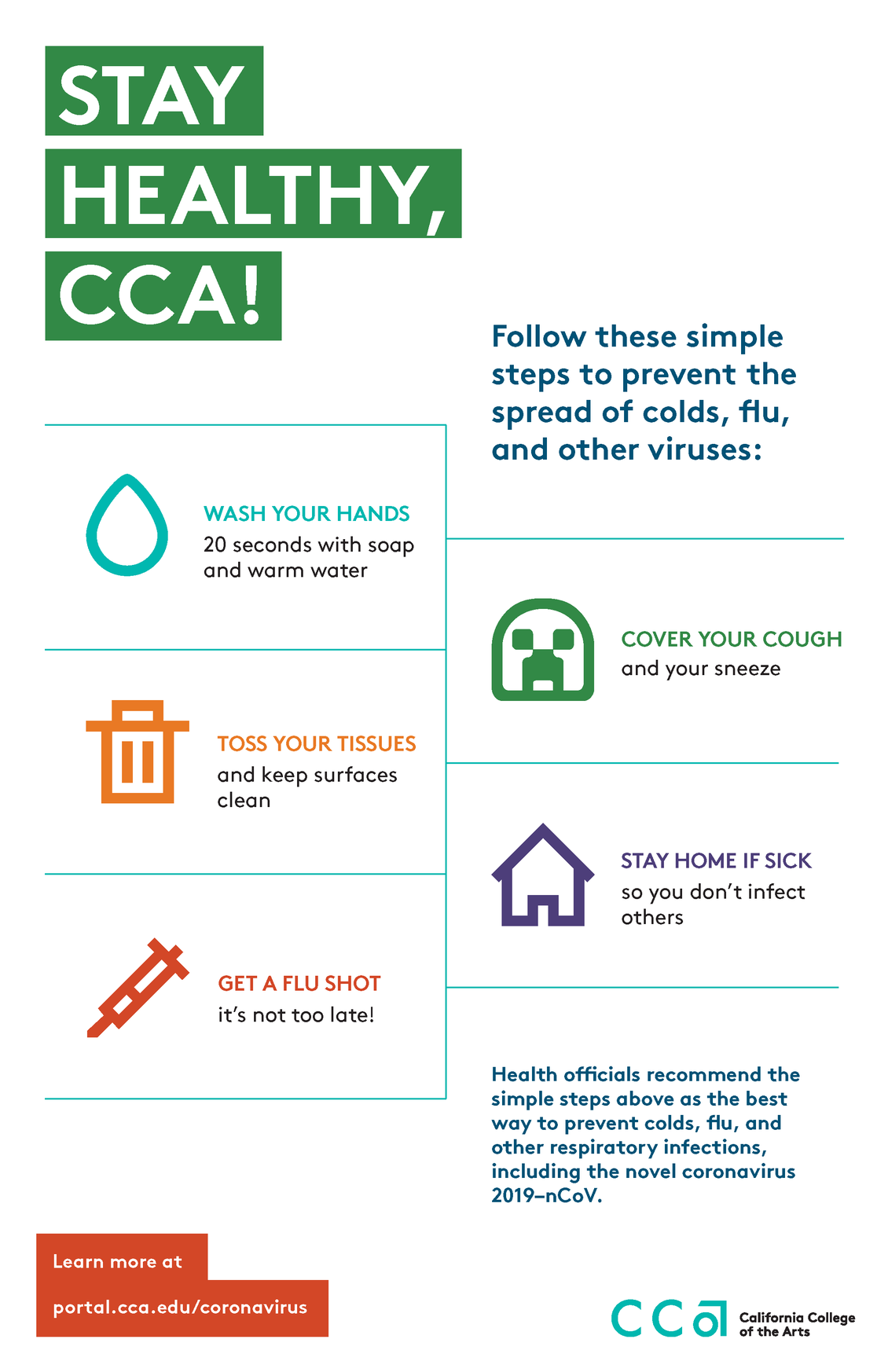 Stay Healthy, CCA! Simple Steps to Prevent the Spread of Illness