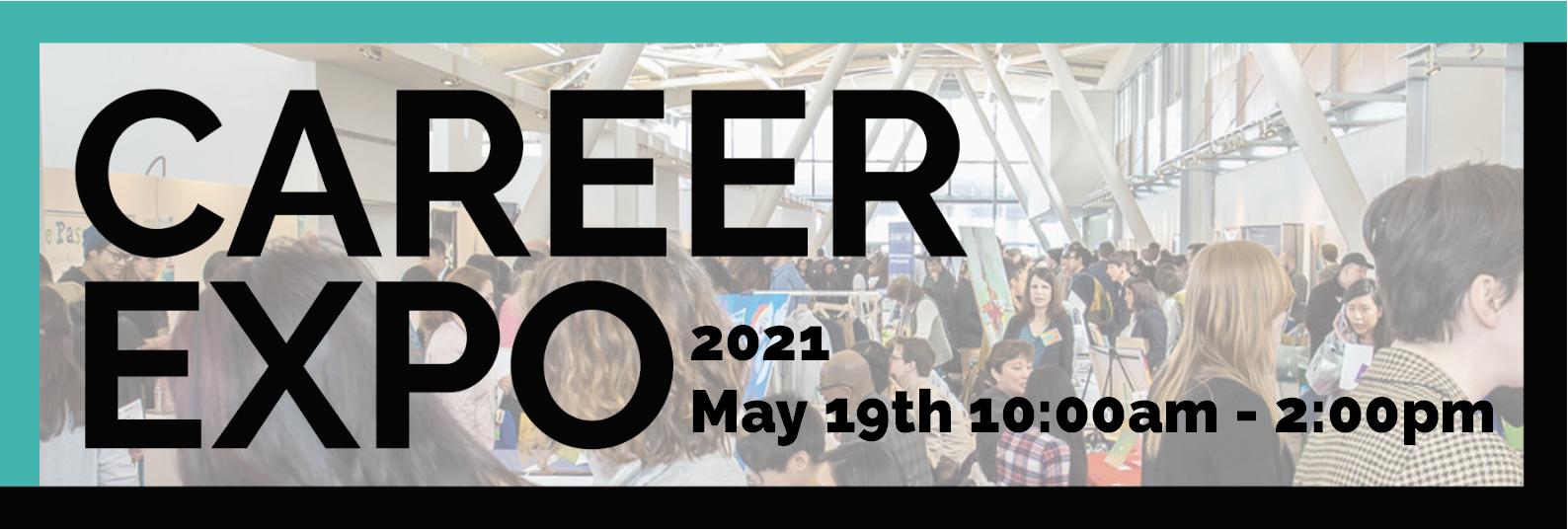 Career Expo 2021: May 19th on Handshake!