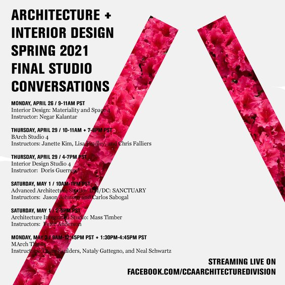 Architecture Division Spring 2021 Final Studio Conversations
