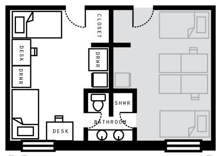 Irwin Double Floor Plan