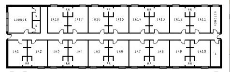 Irwin Hallway Floor Plan