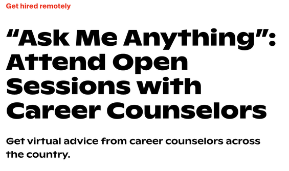 Ask Me Anything:  Every week