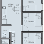 Three Bedroom Suite w/ Kitchen (Graduates)