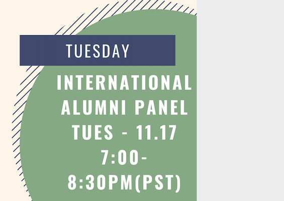 International Alumni Panel