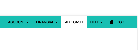 OneCard Add Cash