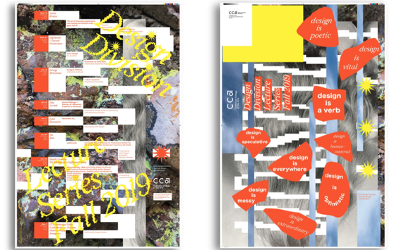 Fall 2019 Design Lecture Series Poster