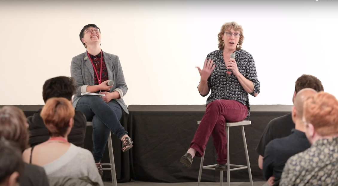 Joey Allison Sayers, Melanie Gillman, Comics in the City