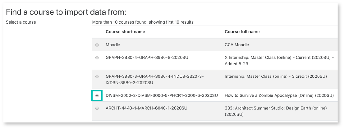 Select Course to Import_Moodle.png