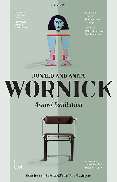 Ronald and Anita Wornick Award Exhibition poster_2019_Events_NP