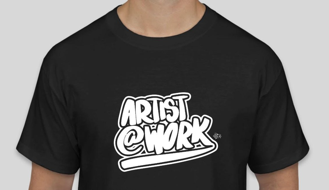 Artist at Work Tshirt