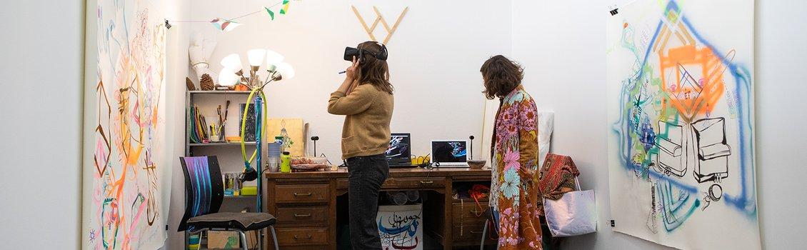Becca Imrich and Judit Navratil in the studio fall 2018.jpg