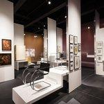 Bauhaus museum interior, berlin