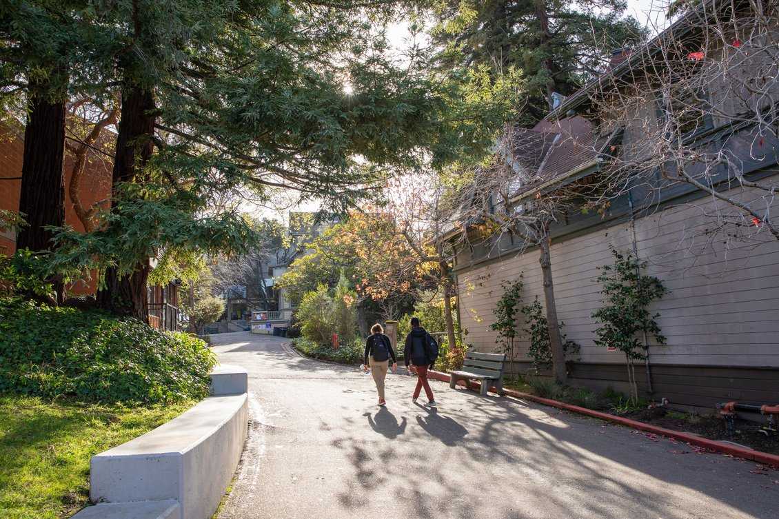 Oakland Campus Walkway