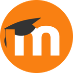 Moodle Icon Orange