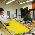 Summer Atelier Screen Printing